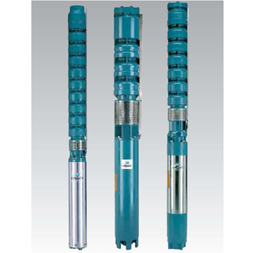 Погружные насосы для скважен из чугуна и нержавеющей стали SDX, SDS диаметром 8″, 10″, 12″